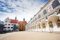 Procesion Del Principe building, Dresden Stock Photography