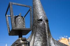Procesion del Silencio statue San Luis Potosi Mexico Stock Image