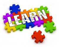 Proceso de aprendizaje Imagen de archivo