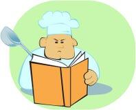 Proceso de cocinar libre illustration