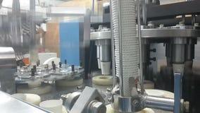 Proceso de fabricación de las tazas de papel metrajes