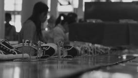 Proceso de fabricación del zapato almacen de video