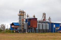 Proceso de la fábrica de granos Imagen de archivo libre de regalías