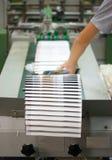 Proceso de la impresión en offset Imágenes de archivo libres de regalías