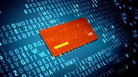 Proceso de la transferencia de datos en la pantalla de ordenador libre illustration