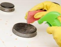 Proceso de lavado Imagen de archivo libre de regalías