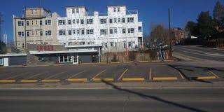 Proceso del gentrification de Denver fotografía de archivo libre de regalías