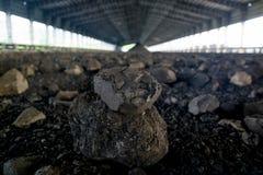 Proceso en mina de carbón Fotos de archivo libres de regalías