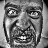 Proceso monstruoso de los gráficos del hombre Fotos de archivo libres de regalías