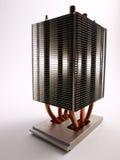 procesor z przodu heatsink widok Obrazy Royalty Free