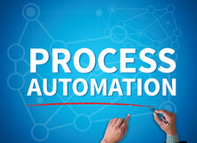 PROCESS AUTOMATION royalty free stock images