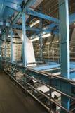 Process av tidningsproduktion Fotografering för Bildbyråer