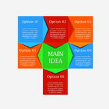 Process chart module Stock Photography