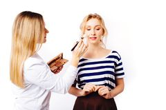 The process of creating makeup royalty free stock photos
