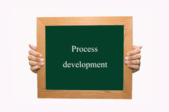 Process development Royalty Free Stock Images