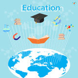 The process of education Royalty Free Stock Photo