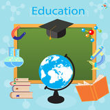 The process of education in a school or university Royalty Free Stock Image