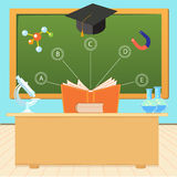 The process of education in a school or university Stock Image