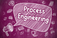 Process Engineering - Business Concept. Stock Image