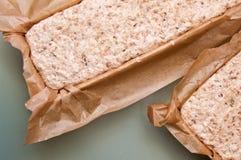 Process för hemlagat bröd Fotografering för Bildbyråer