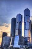 Process för Moskvastadshdr Arkivfoton