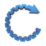 Process flowchart diagram Stock Photos