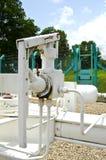 Process gas pump valve Royalty Free Stock Photos