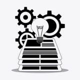 Process icons design Stock Photos