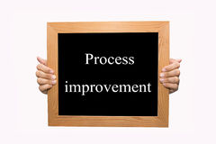 Process improvement Stock Photography