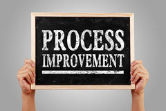 Process improvement Stock Photo