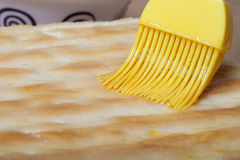 The process of making homemade cake. Shallow depth of field. Sel Stock Image