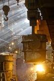 Process of manufacturing metal Royalty Free Stock Image