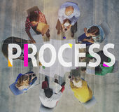 Process Method Strategy Operation Procedure Concept Royalty Free Stock Photography