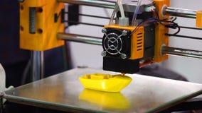 3d printer printing stock video
