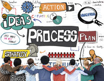 Process Plan Action Business Concept Royalty Free Stock Photos