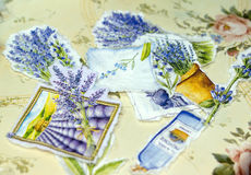 Process in style a decoupage Stock Photos