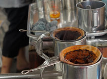 Free Process Tea Making Of Street Food ,this Is Take In Thailand ,tra Royalty Free Stock Photos - 96676888