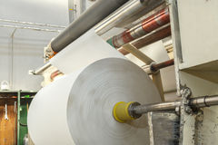 Process of various paper products manufacturing Stock Images