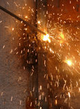 Process of welding of metal Royalty Free Stock Image