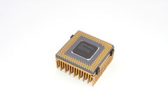 Processador Imagens de Stock Royalty Free
