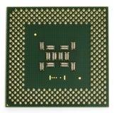Processador central do quadrado Imagem de Stock Royalty Free