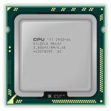 Processador central multicore moderno Fotos de Stock