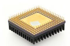 Processador central velho Imagem de Stock Royalty Free