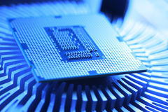 Processador da tecnologia nova imagens de stock