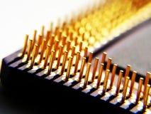 Processador do computador imagens de stock