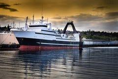Processador do marisco entrado foto de stock royalty free
