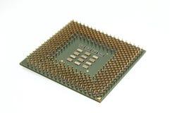 Processador e seus pinos imagem de stock