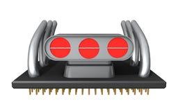 Processador fundido Fotografia de Stock Royalty Free