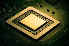Processador gráfico Fotos de Stock Royalty Free
