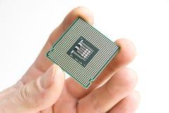 Processador na mão Imagens de Stock Royalty Free